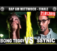 RAP AM MITTWOCH: Bong Teggy vs Ssynic 21.01.15 BattleMania Finale (4/4) GERMAN BATTLE