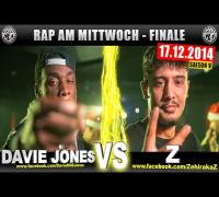 RAP AM MITTWOCH: Davie Jones vs Z 17.12.14 BattleMania Finale (4/4) GERMAN BATTLE