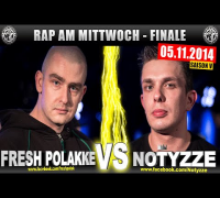 RAP AM MITTWOCH: Fresh Polakke vs Notyzze 05.11.14 BattleMania Finale (4/4) GERMAN BATTLE