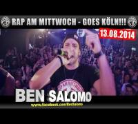 RAP AM MITTWOCH GOES KÖLN AM 13.08.2014 - ANSAGE (VIDEOFLYER)