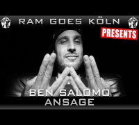 RAP AM MITTWOCH GOES KÖLN AM 13.08.2014 - BEN SALOMO ANSAGE (VIDEOFLYER)