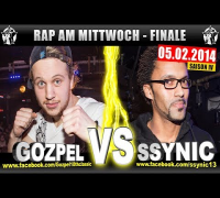 RAP AM MITTWOCH: Gozpel vs Ssynic 05.02.14 BattleMania Finale (4/4) GERMAN BATTLE