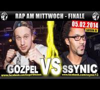 RAP AM MITTWOCH: Gozpel vs Ssynic 05.02.14 BattleMania Finale (4/4) GERMAN BATTLE