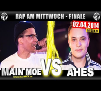 RAP AM MITTWOCH: Main Moe vs Ahes 02.04.14 BattleMania Finale (4/4) GERMAN BATTLE