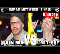 RAP AM MITTWOCH: Main Moe vs Bong Teggy 07.05.14 BattleMania Finale (4/4) GERMAN BATTLE