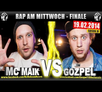 RAP AM MITTWOCH: MC Maik vs Gozpel 19.02.14 BattleMania Finale (4/4) GERMAN BATTLE