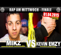 RAP AM MITTWOCH: Mikz vs Kevin Emzy 01.04.15 BattleMania Finale (4/4) GERMAN BATTLE