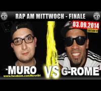 RAP AM MITTWOCH: Muro vs G-Rome 03.09.14 BattleMania Finale (4/4) GERMAN BATTLE