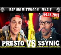 RAP AM MITTWOCH: Presto vs Ssynic 04.03.15 BattleMania Finale (4/4) GERMAN BATTLE