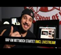 RAP AM MITTWOCH STARTET BMCL LIVESTREAM AUF SKYROOMLIVE.DE (ANSAGE)