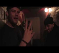 Rapper Manus Bell from Denmark spits bars for R.A the Rugged Man