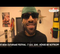 REDMAN - SHOUT - OUT4FAME FESTIVAL 2014