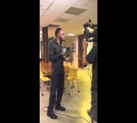 RZA BTS FREESTYLING NEVER BEFORE HEARD RHYMES FOR MTV NEWS!