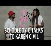 ScHoolboy Q Talks New Album, Old Tweets, and Touring w/ Action Bronson with Karen Civil #CivilTV