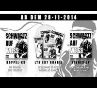 Schwartz - Schwartz auf Weiss / Weisse Seite (Videosnippet)