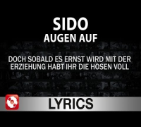 SIDO - AUGEN AUF AGGROTV LYRICS (OFFICIAL VERSION AGGROTV)