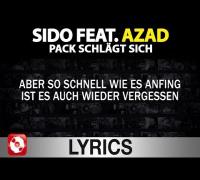 Sido feat. Azad - Pack schlägt sich Lyrics
