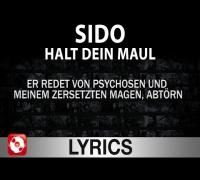 SIDO - HALT DEIN MAUL AGGROTV LYRICS (OFFICIAL VERSION AGGROTV)