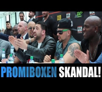 SINAN G: PROMIBOXEN - GEORGINA VS. NATALIA - TOONY, ALBERTO - TV STRASSENSOUND