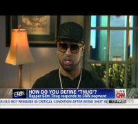 "Slim Thug Talks About What A Being ""Thug"" Is On CNN! [HD]"