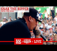 SNAK THE RIPPER - UNTIL YER DEAD - LIVE at the Out4Fame Festival 2014 - RAP4AID