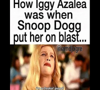 Snoop Dogg Disses The Shit Out Of Iggy Azalea. Tells Her BF Nick Young Of Lakers To Get Her (2014)