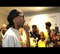 Snoop Dogg Meets Mike Brown's Parents at No Guns Allowed Anti-Gun Violence Breakfast