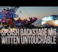 Splash 2014 Backstage mit Witten Untouchable (Lakmann, Al Kareem, Magic Mess)
