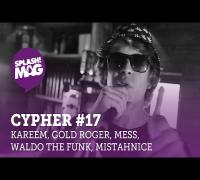 splash! Mag Cypher #17: Al Kareem, Gold Roger, Mess, Waldo The Funk, MistahNice #JägermeisterGasthof