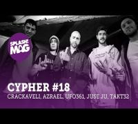 splash! Mag Cypher #18: Crackaveli, Azrael, Ufo361, Juse Ju, Takt32