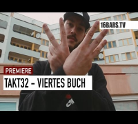 Takt32 - Viertes Buch // prod. by Jumpa (16BARS.TV EXCLUSIVE)