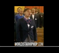 Talented: Female Church Choir Member Has Amazing Vocals As She Sings Along Her Group!    (HD)