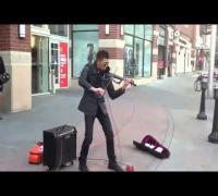 Talented Street Musician Makes Magic With Violin