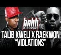 Talib Kweli x Raekwon - Violations (Official Music Video Behind The Scenes)