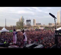 "The Cool Kids - ""BASSMENT PARTY"" (Live) @ Butler Park in Austin, Texas [SXSW 2014]"