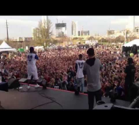 "The Cool Kids - ""GOLD AND A PAGER"" (Live) @ Butler Park in Austin, Texas [SXSW 2014]"