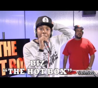 The Hot Box - Biz Goes Off 100  Barz Freestyle with DJ Enuff