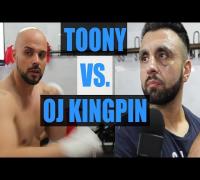 TOONY VS. OJ KINGPIN - OFFIZIELLE KAMPF-VORBEREITUNG - BERO BASS, SINAN G, AGIT - PROMIBOXEN - LIVE