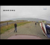 Tragic Plane Crash Captured On Camera In Iceland [HD] (Footage by 365 News)