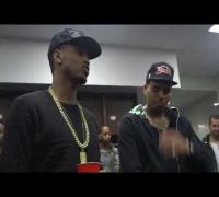Trey Songz & Chris Brown Perform at Powerhouse NYC 2014