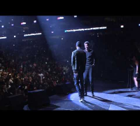 Trey Songz surprises J Cole at Powerhouse 2014 in Philadelphia
