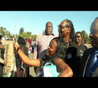 Turkey Giveaway with Inglewood Mayor
