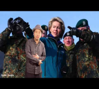 Ursula von der Leyen, mit der Bundeswehr Blumio: Rap da News! -- Episode 64