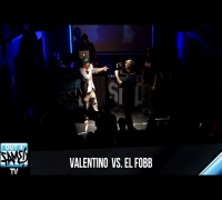 VALENTINO VS EL FOBB - 1ON1 Freestyle-Battle Halbfinale-Nord 2014