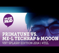 VBT splash! Edition 2014 - Primatune vs. ME-L Techrap & MoooN   (Viertelfinale Rückrunde) HD