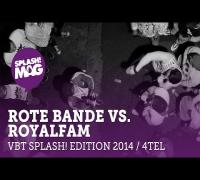 VBT splash! edition 2014 - Rote Bande vs. Royalfam (Viertelfinale Rückrunde)