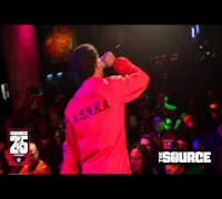 Vic Mensa Freestyles at SOB's