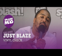 Vinyl Check: Just Blaze on producing for Jay Z, Kendrick Lamar, Kanye West, Drake (splash! Mag TV)