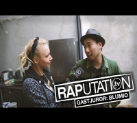 Visa Vie & Blumio im RAP DA NEWS Studio (RAPutation.tv)
