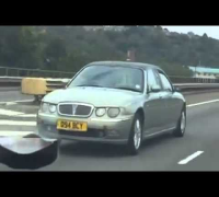 Weird Car With 2 Fronts Spotted On England's M4 Highway!